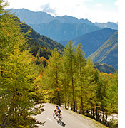 Slovenia and Italy biking photo